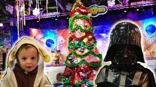 VLOG новогодняя елка в Крокусе. Представление Смешарики и Новые Фиксики с Машей Видео для детей