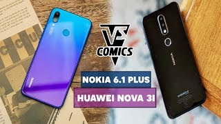 Huawei Nova 3i và Nokia 6.1 Plus huyền thoại hay tân binh ?