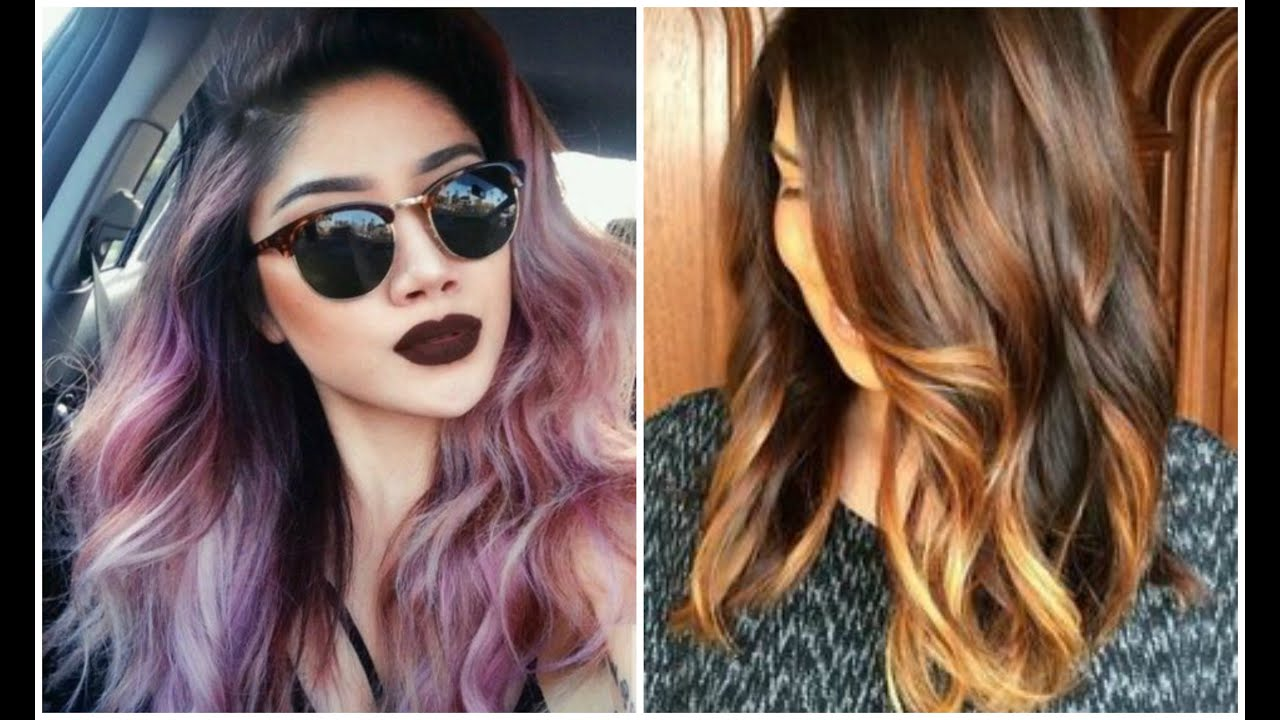 6 Hot New Hair Color Trends For Spring Summer 2016