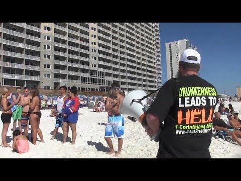 Panama City Beach Spring Break 2017 | Open Air Preaching | Kerrigan Skelly