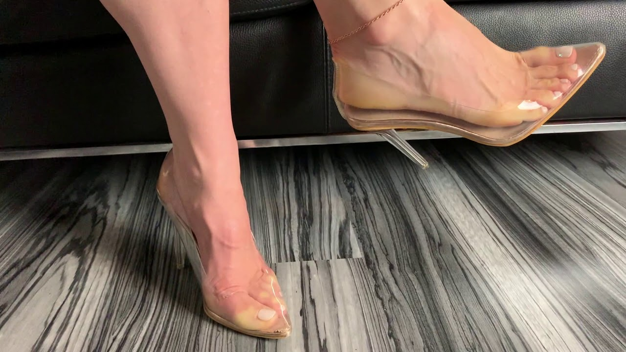 Bupshi - perspex stilettos