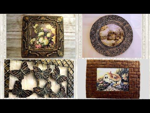 4 AMAZING  ROOM Decor  IDEAS / Craft Ideas /Wall Decoration