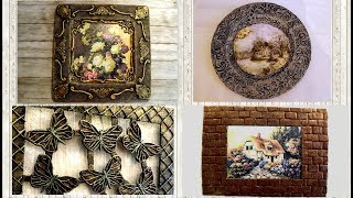 4 Amazing Room Decor Ideas / Craft Ideas /wall Decoration