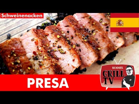 Presa aus dem Schweinenacken --- Rummel Grill TV #rummelgrilltv