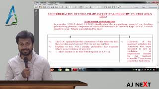 Case Law #19 - Direct Tax - Confederation of India pharmaceutical Industry vs CBDT