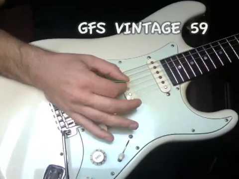GFS Vintage '59 (F-spaced) vs  SEYMOUR DUNCAN JB trembucker