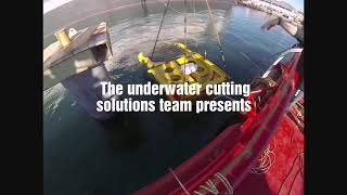 Saperdiver Underwater cutting