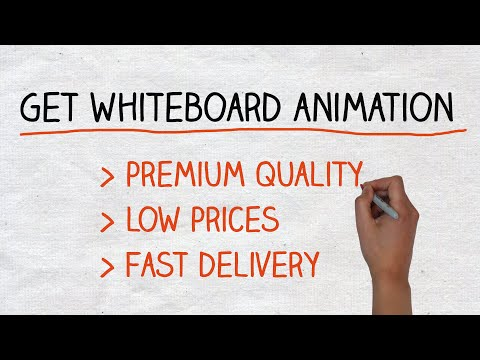 High-Quality Whiteboard Animation Studio