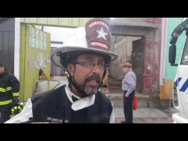 INCENDIO RIQUELME AV ARGENTINA