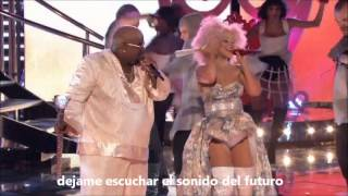 Christina Aguilera ft CeeLo Green - Make the world move (live the voice) Sub en castellano