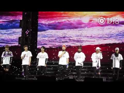 [FANCAM] [160702] BTS concert in Nanjing - Young Forever