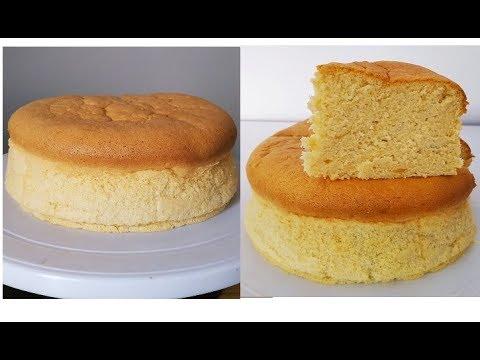 vanilla-cotton-sponge-cake-(-gâteau-éponge-à-la-vanille)