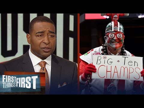 Cris Carter on the Buckeyes' future: It's stacked at Ohio State | CFB | FIRST THINGS FIRST