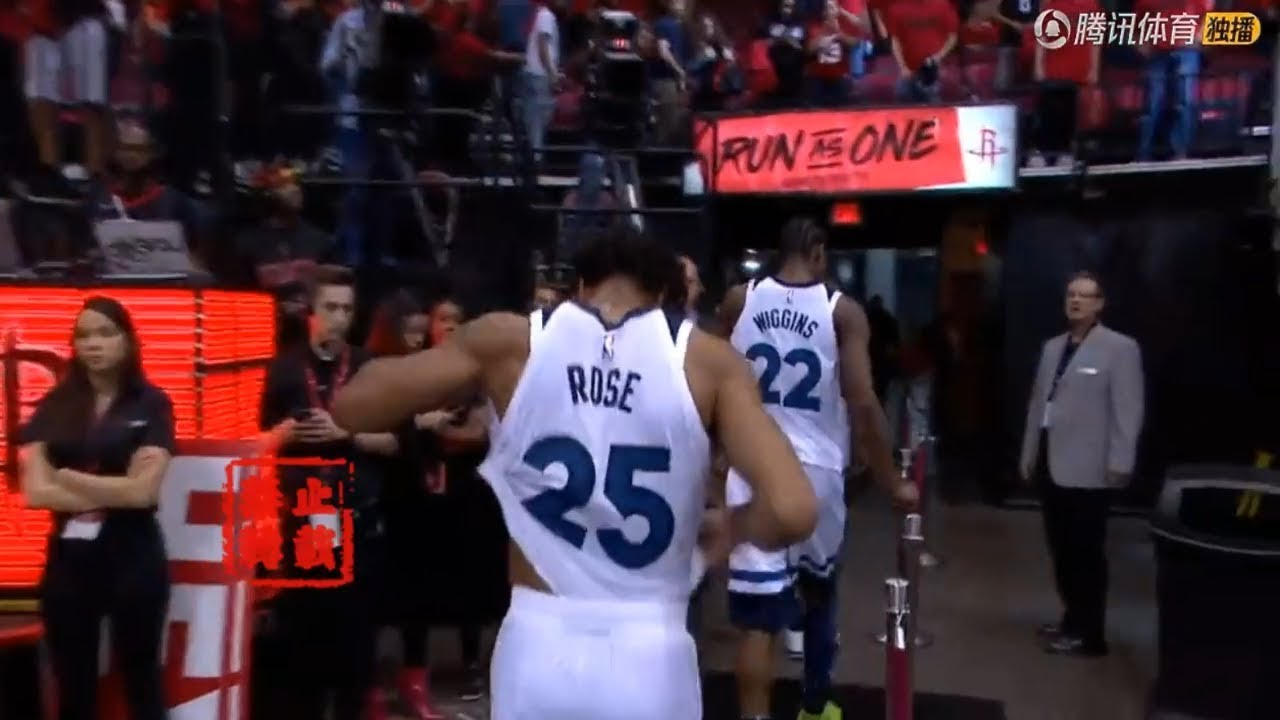 Rockets Shows Respect To Derrick Rose Vintage MVP Energy IN The Playoffs