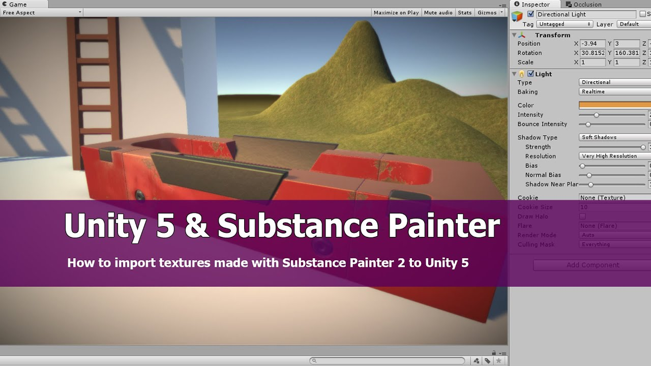 Unity 5 Import Substance Painter Textures Tutorial