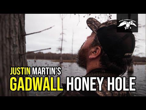 Justin Martin's Gadwall Haven | Arkansas Duck Hunting