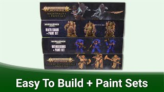 Games Workshop Easy To Build   Paint Sets Review