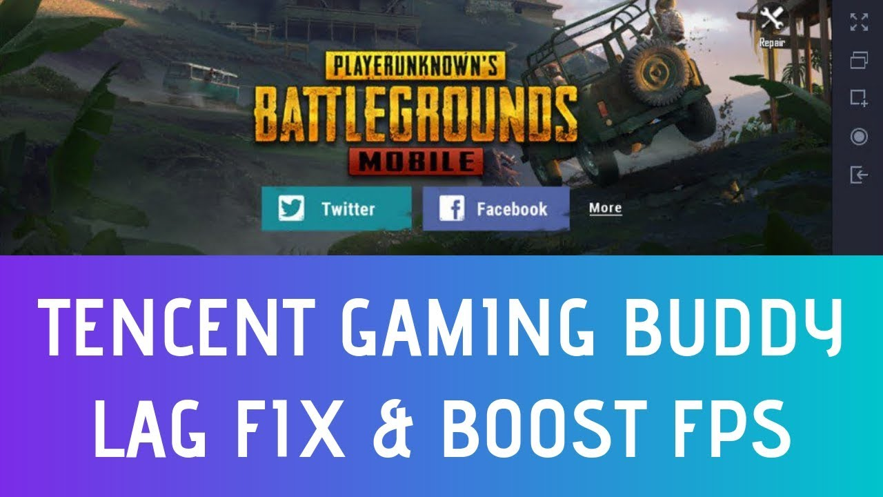 Fix Lag in Tencent Gaming Buddy 2019 Updated - Tencent Gaming Buddy Lag Fix  In PUBG Mobile Emulator