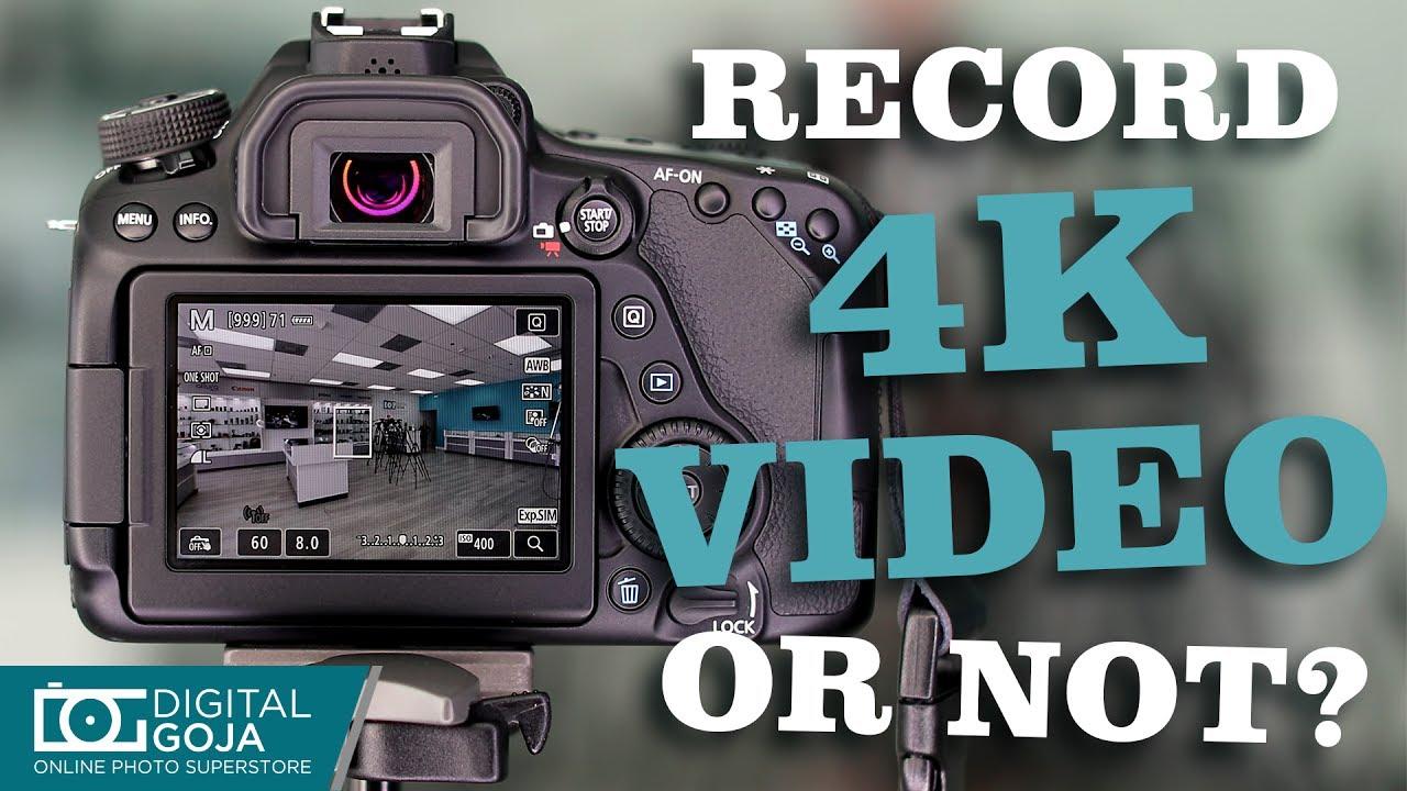 Can a Canon EOS 80D Record 4K? | FAQ