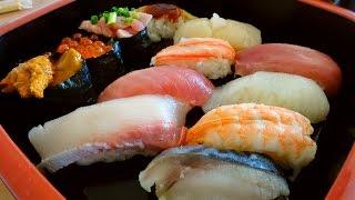 SUSHI - CIBO A DOMICILIO IN GIAPPONE Ep. 1 thumbnail