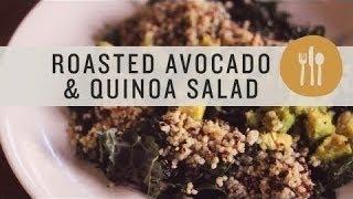 Superfoods - Roasted Avocado And Quinoa Salad