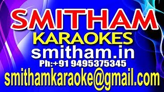 Chembaka Poo Mottinullil karaoke | Ennu Swantham Janakikutty KARAOKE