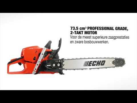 ECHO CS-7310SX - Professionele Kettingzaag - Features