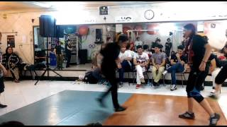 Bgirl battle 2 vs 2 iran ..bgirl supple