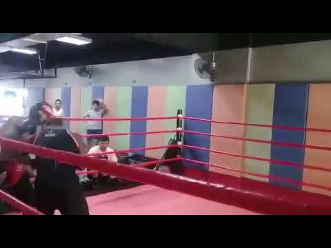 Tanzania Thai boxing champion vs WBO Malaysia no4,having fun sparring 👍