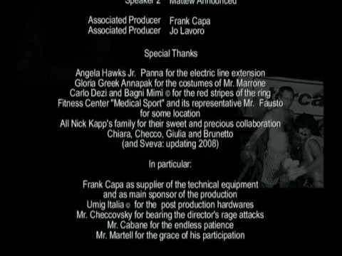 ROCCO, the movie,  Credits