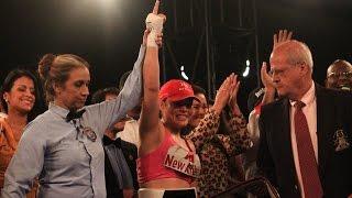Linda Lecca retiene su título supermosca (AMB) en Huarochirí