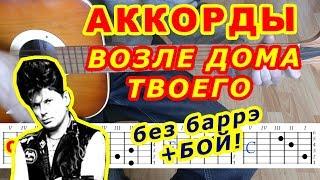 Возле дома твоего Аккорды   Сектор Газа ♪ Разбор песни на гитаре ♫ Бой Текст