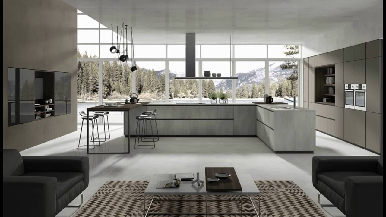 LAB - Cucine moderne by Cucinesse - YouTube