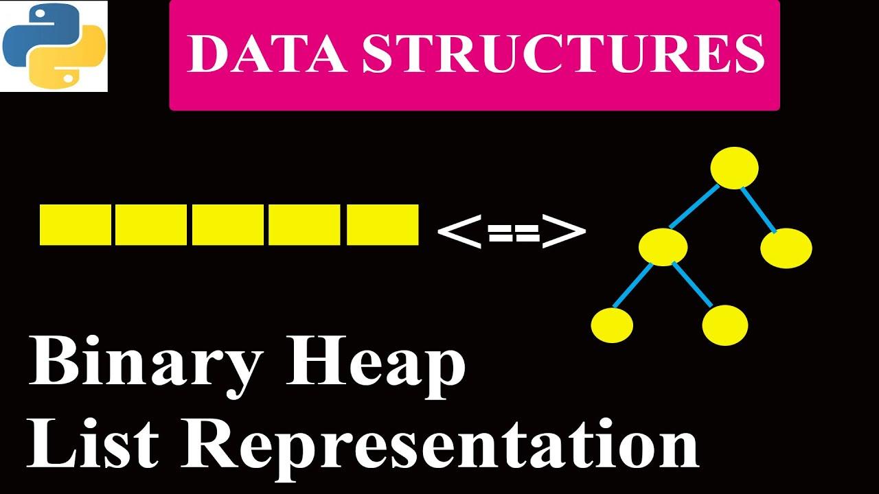 List Representation of Binary Heap | Python Tutorials