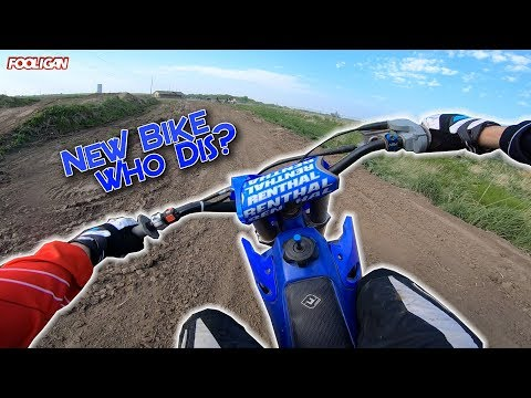 Ripping a YZ125 | First Time Hitting Whoops!