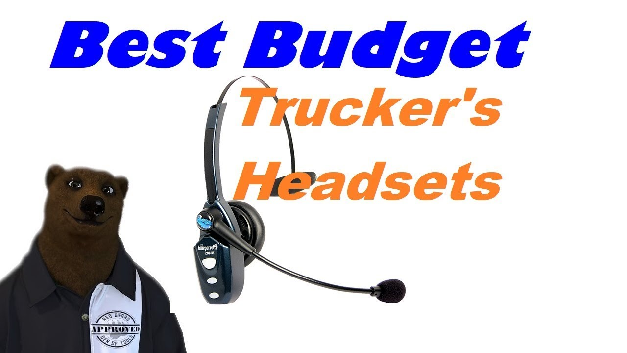Best Budget Trucker Style Headset Bluetooth Headset Youtube