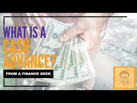 what-is-a-cash-advance