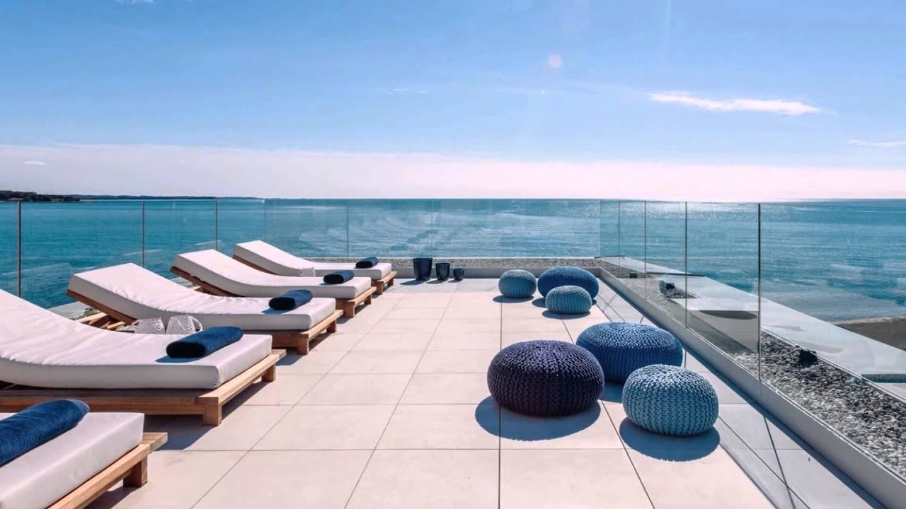 luxus ferienhaus am meer in kroatien villa lorena urlaub 2016 istrien youtube. Black Bedroom Furniture Sets. Home Design Ideas