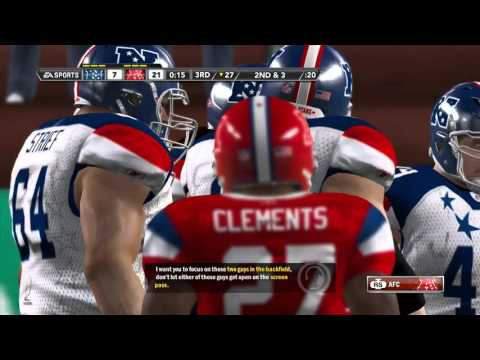 Throwback: Madden 12 Pro Bowl AFC vs NFC