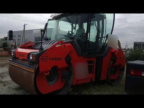 Асфальтный каток Hamm HD+ 120 VV – продается на HEAVY FAIR! Видео диагностика асфальтного катка