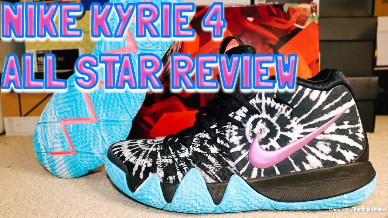 02cab1b95d2 NIKE KYRIE 4 ALL STAR REVIEW   ON FEET!! - YouTube