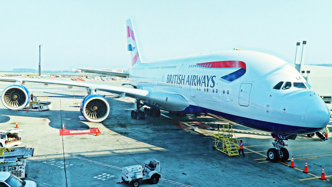 British Airways A380 UNACCEPTABLE Business Class Flight - London to San Francisco