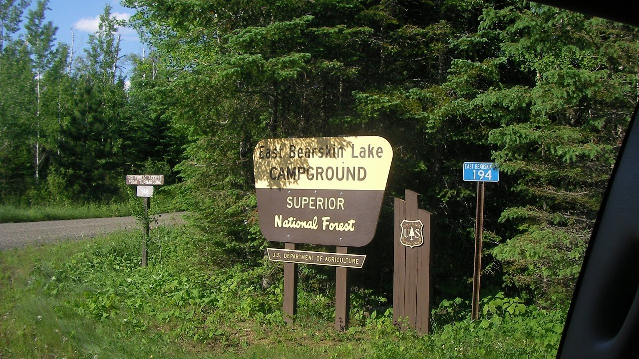 East Bearskin Lake campground review Superior National Forest