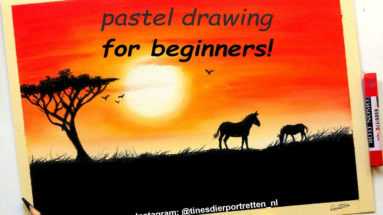 Rita Kirkman's Daily Paintings: Sunset #51 |Pastel Drawings Of Sunsets