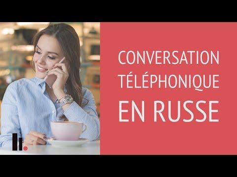 Conversation téléphonique en russe | Podcasts gratuits pour apprendre le russe
