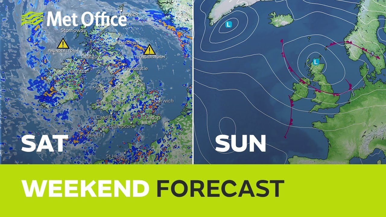 Weekend weather – Low pressure in charge 05/08/21