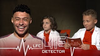 'I have to put Robbo's shirt next to Messi's!' | Ox takes the Kop Kids Lie Detector Test