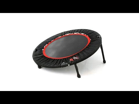 Urban Rebounder Elevated Trampoline with 9 Workouts