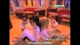"Casi Angeles 2T - Los chiquitos cantan ""Chiquitita"" (greek subs)"