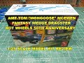 AMT TOM MONGOOSE MCEWEN FANTASY WEDGE DRAGSTER HOT WHEELS 1:25 SCALE MODEL KIT REVIEW AMT1069